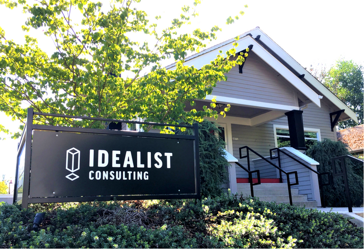Idealist Consulting's house on Mississippi Ave in Portland
